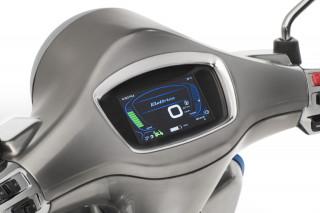 All-electric Vespa Elettrica scooter
