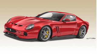 Ares' modern Ferrari 250 GTO based on the Ferrari 812 Superfast