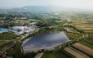 Artist's impression of Rimac's new headquarters to built in Zagreb, Croatia
