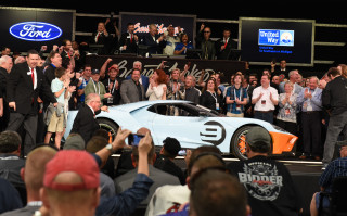 Auction of 2019 Ford GT Heritage Edition on January 19, 2019