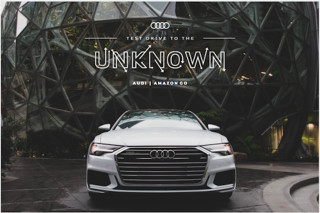 2019 Audi A6 Amazon Go test drives