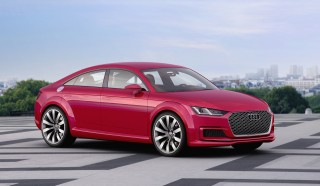 Could the Audi TT morph into a sedan?