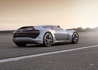 Audi reveals PB18 e-tron concept in Monterey–with moveable cockpit and solid-state batteries