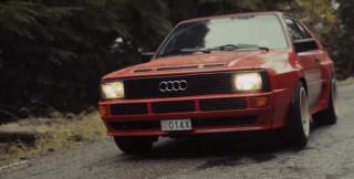 André Lotterer's 1984 Audi Sport Quattro