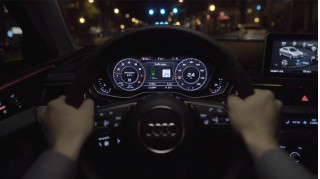 "Audi unveils new tech to ride ""wave"" of green lights"