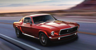 Russian firm wants to build high-tech EV styled like a classic Mustang