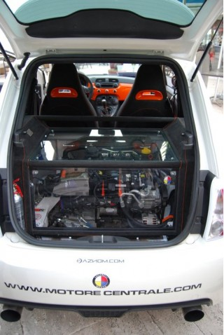 Aznom Unveils 230-HP Mid-Engine Rear-Drive Fiat 500 At Top Marques ...