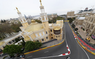 Baku City Circuit, home of the Formula 1 Azerbaijan Grand Prix