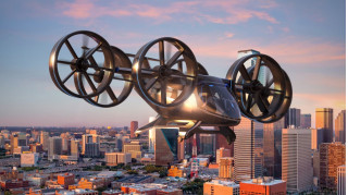 Electrified Bell Nexus concept shows how Uber Air could take off