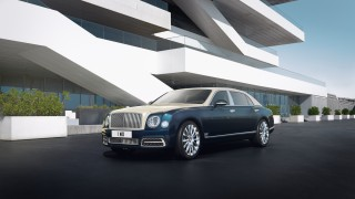Bentley Mulsanne Hallmark Series Silver