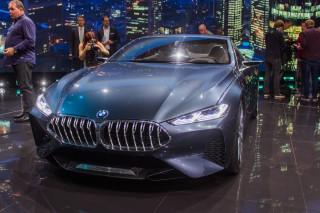 BMW 8-Series Concept, 2017 Frankfurt Auto Show