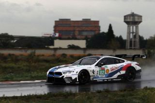 Alex Zanardi tests BMW M8 GTE racer
