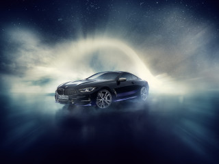 Customized BMW 8-Series comes with meteoritic materials