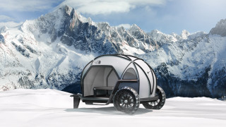 BMW designs a camper concept with waterproof fabric that's breathable