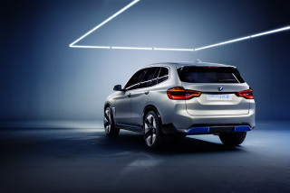 BMW iX3 Concept rear 3/4