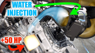 How the BMW M4 GTS water injection system works