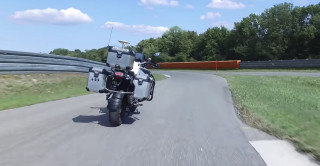 BMW self-riding motorcycle
