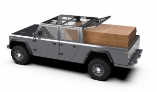 Bollinger Motors announces B2 electric pickup alongside SUV