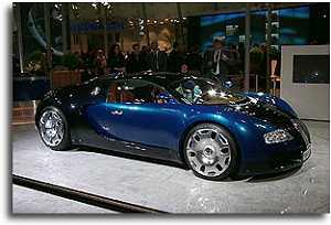 Bugatti 1999 concept Veyron
