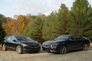 Buick LaCrosse vs. Kia Cadenza