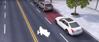 Cadillac automatic emergency braking