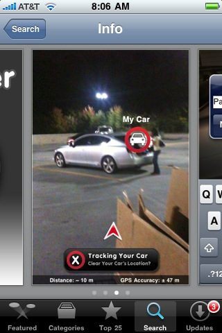 Just In Time For Shopping Season Car Finder For The Iphone