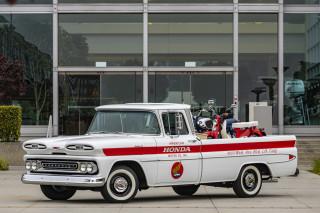Honda-restored 1961 Chevrolet Apache 10 pickup for 60th anniversary