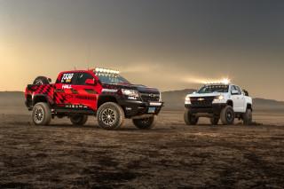 Chevrolet Colorado ZR2 Race Development Truck with Hall Racing ZR2