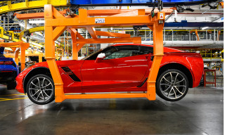 Chevrolet Corvette production at Bowling Green Assembly plant