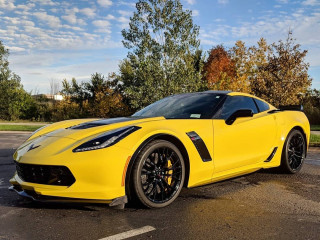 Chevrolet Corvette Z06 Hertz 100th anniversary edition Photo: Ernesto Amador