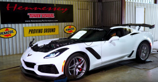 2019 Chevy Corvette ZR1 HPE1000 on dyno