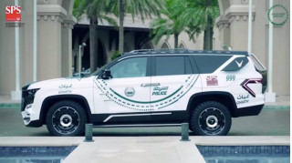 Dubai police Giath Chevy Tahoe-based police car