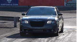 Chrysler 300 SRT8 with Hellcat engine block