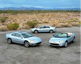 Chrysler's Sebring Trio