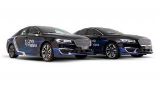 Cohda Wireless self-driving Lincoln MKZ sedans