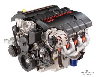 Corvette LS2 V-8