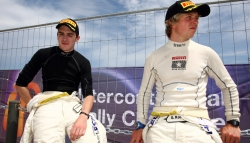 Craig Breen (left) and Gareth Roberts