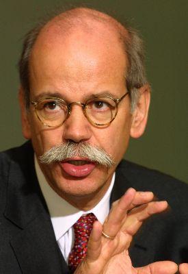 Chrysler Group chief executive Dieter Zetsche