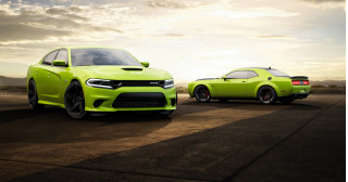 2019 Dodge Charger and Challenger finished in Sublime paint