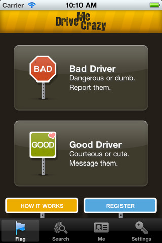 DriveMeCrazy iPhone App