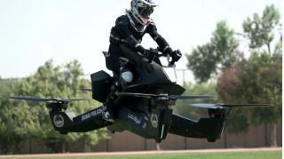 Dubai police test Hoversurf hover bike
