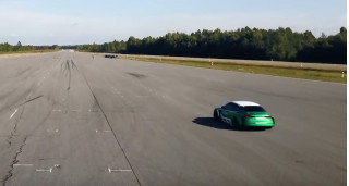 1,200-hp electric Audi RS 3 hits 130 mph in reverse for new world record
