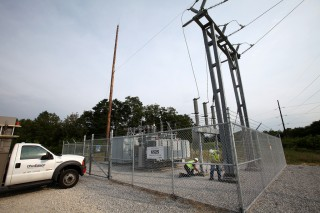 Electricity grid substation (Image: FirstEnergy Corp on Flickr, used under CC license)