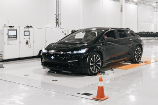 Faraday Future factory completes its first full car (Updated)