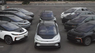 "Faraday Future posts ""For Sale"" signs, as Evergrande backer announces first EV"