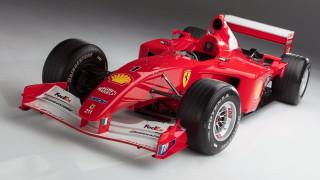 Ex-Schumacher Ferrari F1 car sells for record $7.5M