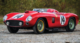 Ferrari 290 MM raced by Fangio, Hill and Moss sells for $22M at auction