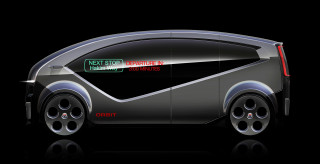 Fisker Orbit self-driving shuttle
