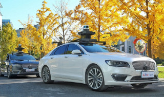 Ford and Baidu self-driving car prototype
