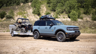 Ford Bronco Sport Tow RZR concept